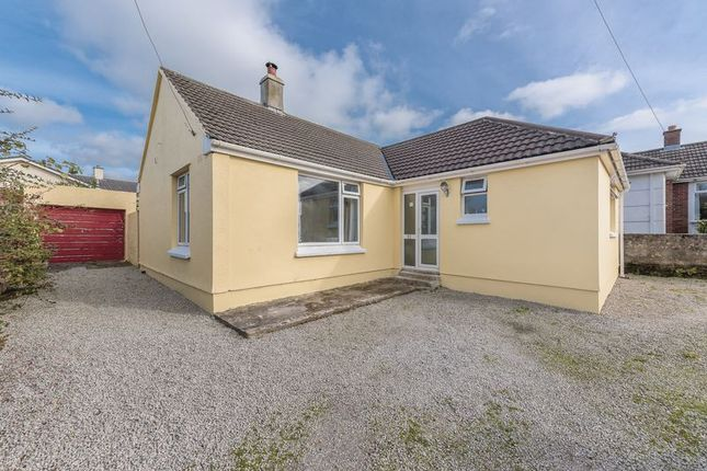 Thumbnail Bungalow for sale in Newton Road, Troon, Camborne