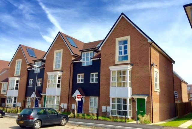Thumbnail Town house to rent in Drewitt Place, Aylesbury
