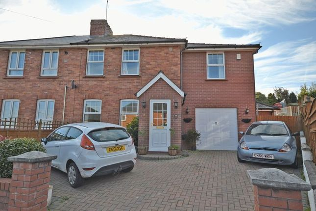 Thumbnail Semi-detached house for sale in Stunning Extended Family House, Roman Way, Caerleon