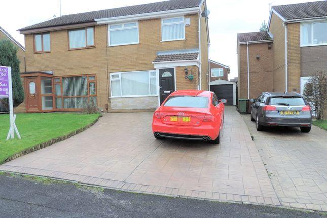 Thumbnail Semi-detached house for sale in 11 Saxon Drive, Chadderton