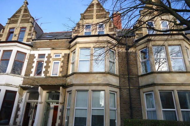 Thumbnail Flat to rent in Marlborough Road, Roath, Cardiff