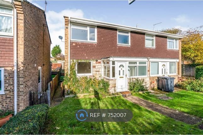 Thumbnail Semi-detached house to rent in Wessex Gardens, Hampshire
