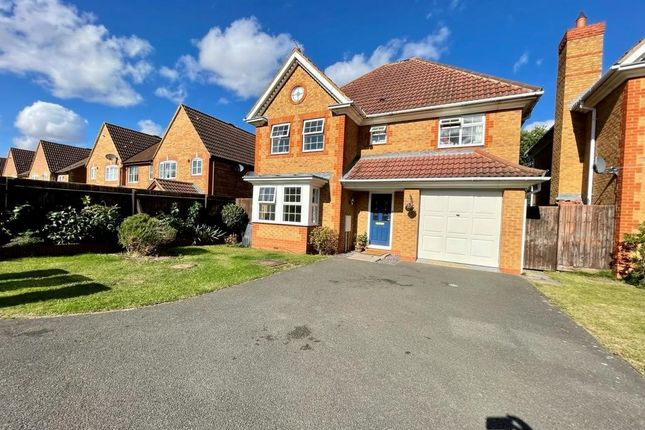 Thumbnail Detached house for sale in Halley Close, Hinchingbrooke Park, Huntingdon
