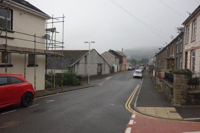 Street View of Ebenezer Road, Tonypandy CF40