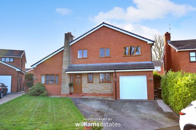 Thumbnail Detached house for sale in Hen Blas, Mold