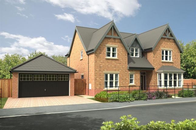 Thumbnail Detached house for sale in Eachwick Drive, Nr. Ponteland