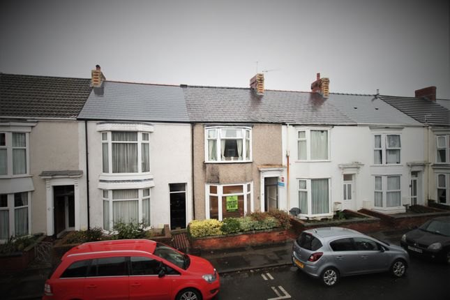 Thumbnail Terraced house to rent in Alexandra Terrace, Brynmill, Swansea
