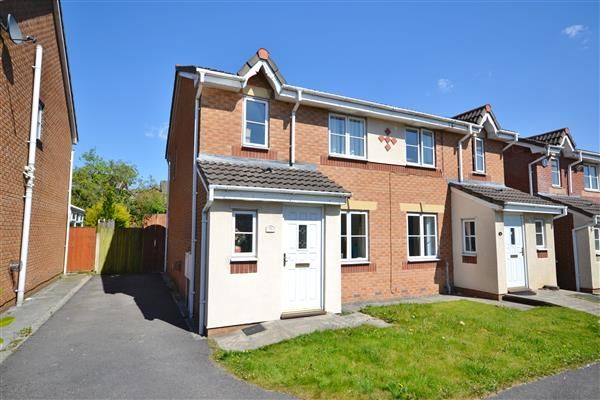 Thumbnail Semi-detached house to rent in Redwood Drive, Chorley
