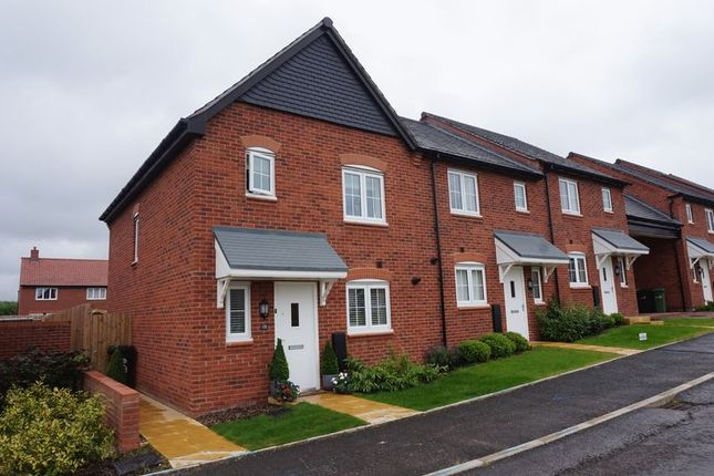 Thumbnail Terraced house to rent in Field View Road, Congleton