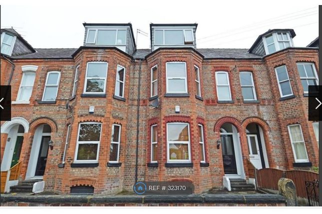 Thumbnail Flat to rent in Wycliffe Road, Urmston