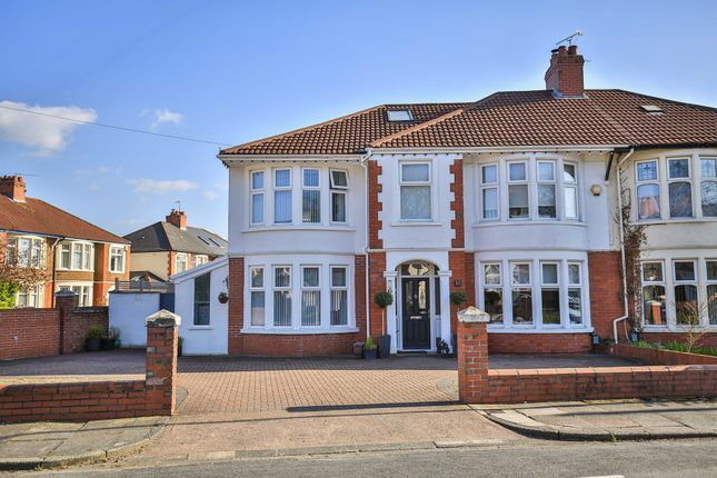 Thumbnail Semi-detached house for sale in St Albans Avenue, Heath, Cardiff