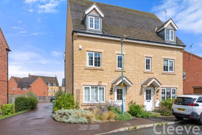 Thumbnail Semi-detached house for sale in Greenacre Way, Bishops Cleeve, Cheltenham