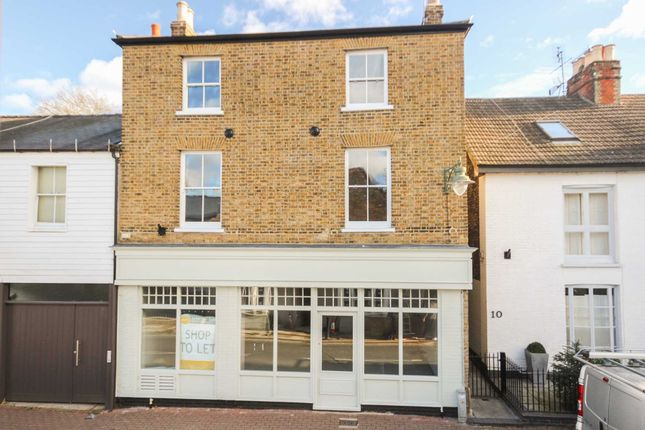 Thumbnail 2 bed flat to rent in Flat 1, 12 High Street Thames Ditton