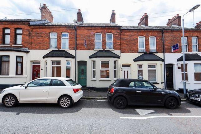 Thumbnail Terraced house for sale in Pomona Avenue, Belmont, Belfast
