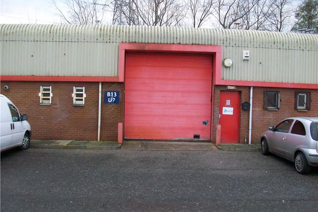 Thumbnail Industrial to let in Block 13 Unit 2, Glencairn Industrial Estate, Kilmarnock