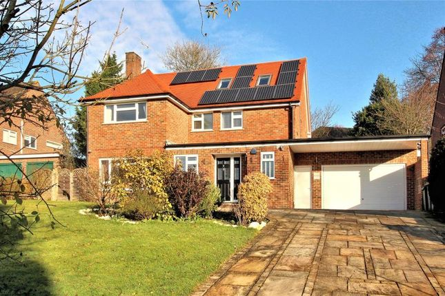 Thumbnail Detached house to rent in Bylands, Woking