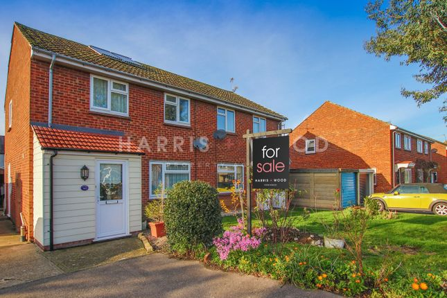 Thumbnail Semi-detached house for sale in Parsons Field, Dedham, Colchester