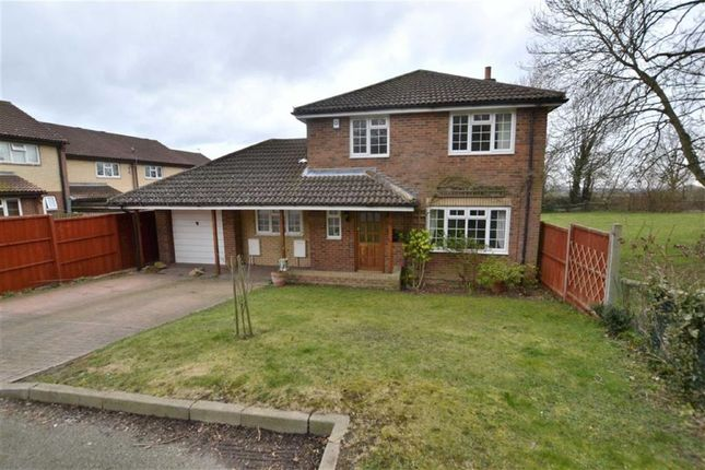 Thumbnail Detached house for sale in St Albans Drive, Weston Heights, Stevenage, Herts