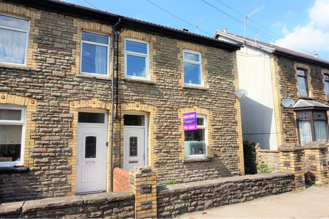 Thumbnail Terraced house for sale in Commercial Street, Hengoed