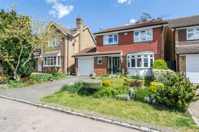 Thumbnail Detached house for sale in Weavering Close, Rochester
