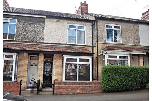 Thumbnail Terraced house to rent in Salisbury Street, Hessle