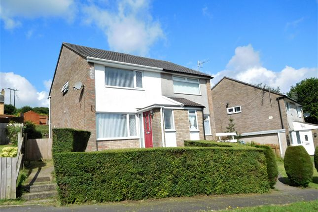 Thumbnail Semi-detached house for sale in Brigham Court, Hendredenny, Caerphilly