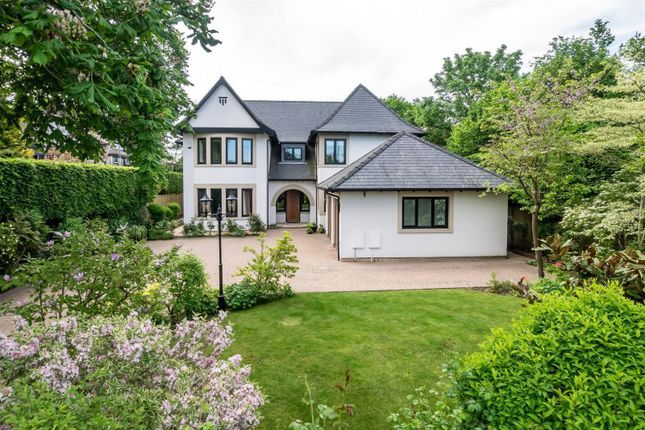 Thumbnail Detached house for sale in Withinlee Road, Prestbury, Macclesfield