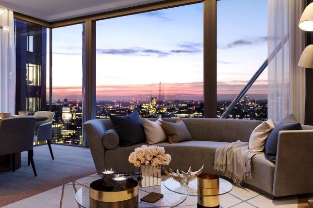 Thumbnail 3 bed flat for sale in One Bishopsgate Plaza, City Of London
