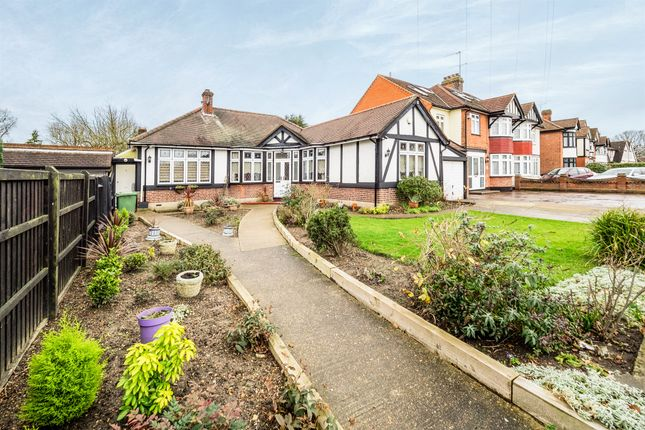 Thumbnail Detached bungalow for sale in Pettits Lane, Gidea Park, Romford