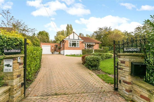 Thumbnail Detached bungalow for sale in Potter Street Hill, Pinner, Middlesex