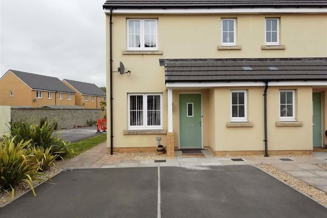 Thumbnail Semi-detached house for sale in Clos Y Doc, The Links, Llanelli