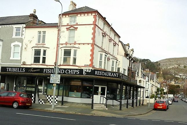 Thumbnail Restaurant/cafe for sale in Taliesin Street, Llandudno
