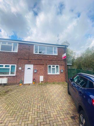 Thumbnail Flat to rent in Bonnington Close, Hillmorton, Rugby
