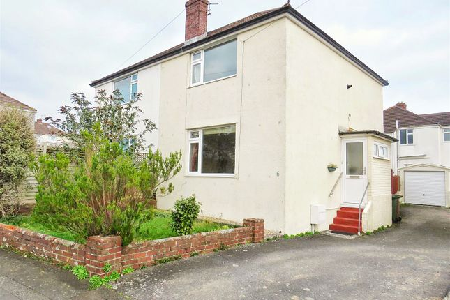 Thumbnail Semi-detached house for sale in Braddons Hill, Plympton, Plymouth