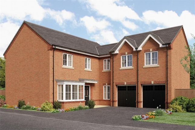 "Thumbnail Detached house for sale in ""Shakespeare"" at Jack Lane, Moulton, Northwich"