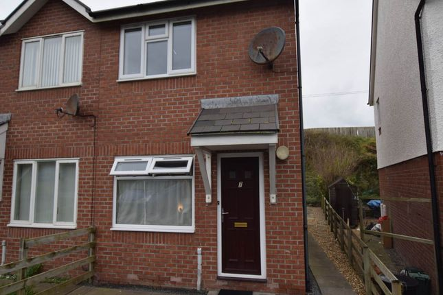 Thumbnail Semi-detached house to rent in 7 Pen Y Cei, Felin-Y-Mor Road, Aberystwyth