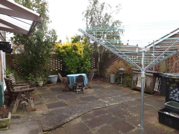 Garden of Twenty Acres Road, Southmead, Bristol, City Of Bristol BS10