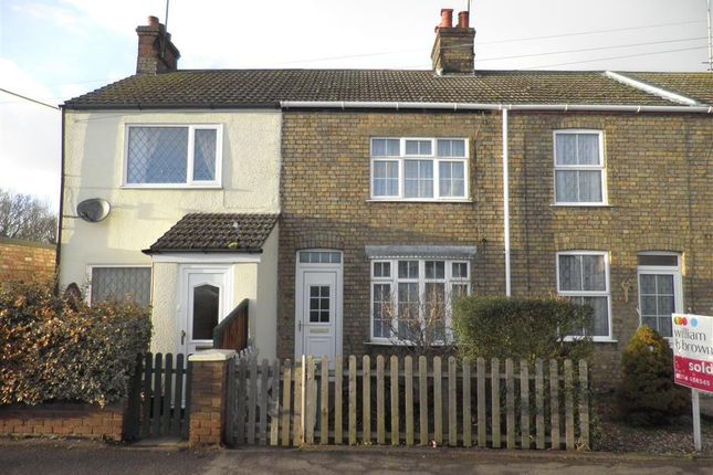 Thumbnail Terraced house to rent in Westfield Road, Manea, March