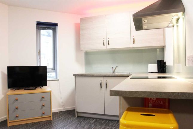 Thumbnail Flat to rent in Emmanuel House, Studio 6, 179 North Road West, Plymouth