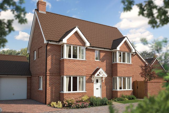 "Thumbnail Detached house for sale in ""The Sheringham"" at Bridge Road, Bursledon, Southampton"