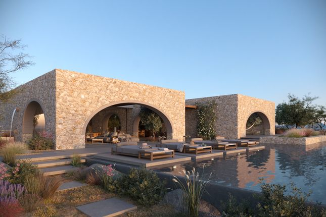 K Studio Lounge Pool And Terrace CGI At Navarino Residences