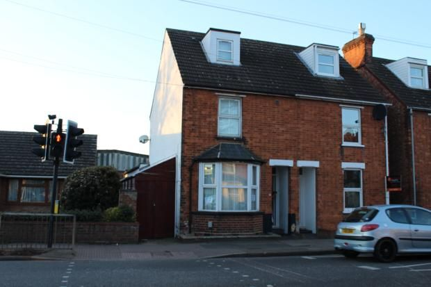 Thumbnail Terraced house to rent in Newnham Avenue, Bedford