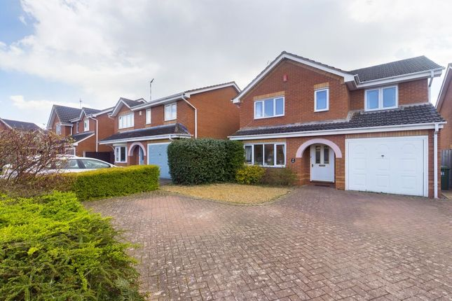 Thumbnail Detached house for sale in Miranda Drive, Heathcote, Warwick