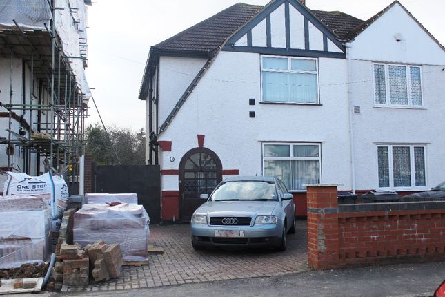 Thumbnail Semi-detached house to rent in Shenley Road, Heston, Hounslow