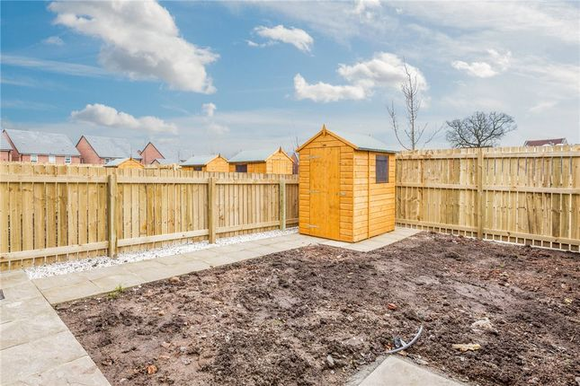 Rear Garden of Willow Place, Knaresborough, North Yorkshire HG5