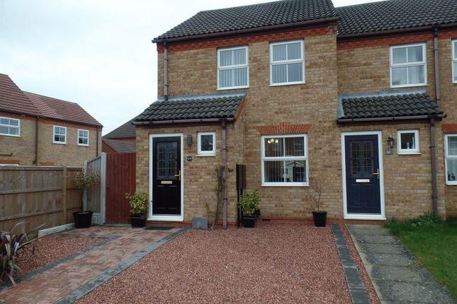 Thumbnail Semi-detached house to rent in Gloucester Close, Bracebridge Heath, Lincoln