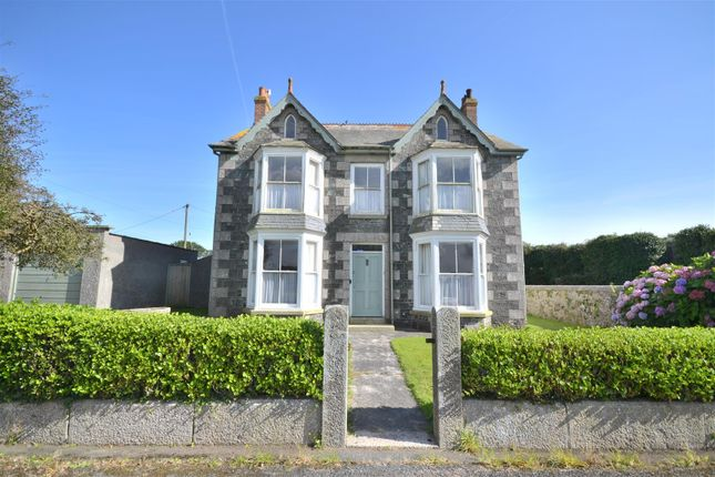 Thumbnail Detached house for sale in High Street, St. Keverne, Helston