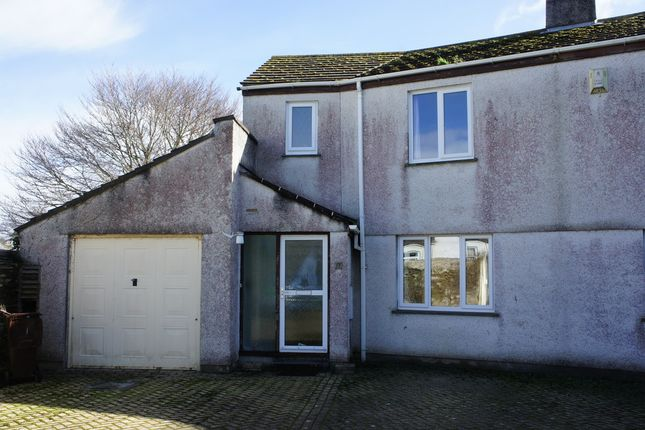 3 bed semi-detached house for sale in Lower Redannick, Truro