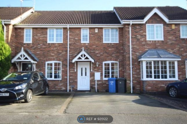 Thumbnail 2 bed terraced house to rent in Little Woodbury Drive, Littleover, Derby
