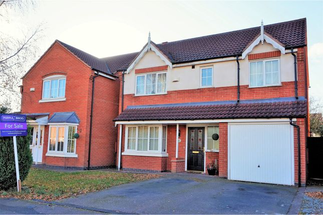 Thumbnail Detached house for sale in Water Meadow Way, Ibstock